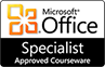 Microsoft Office Specialists - Approved Microsoft Courseware